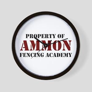 Ammon Fencing Academy Wall Clock