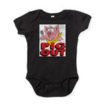 Pig Out Baby Bodysuit