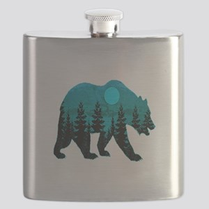 A BLUE MOON Flask
