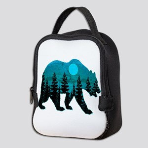 A BLUE MOON Neoprene Lunch Bag