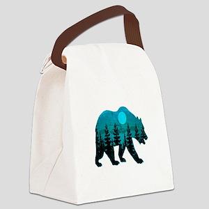 A BLUE MOON Canvas Lunch Bag
