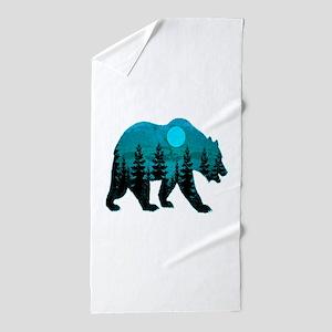 A BLUE MOON Beach Towel