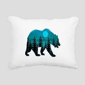 A BLUE MOON Rectangular Canvas Pillow
