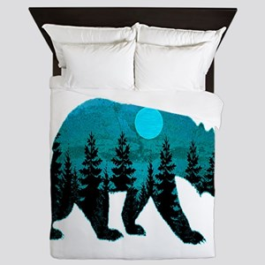 A BLUE MOON Queen Duvet