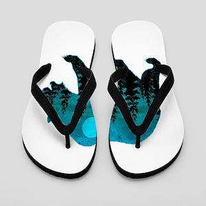 A BLUE MOON Flip Flops