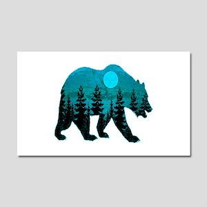 A BLUE MOON Car Magnet 20 x 12