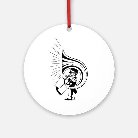 TubaGuy Ornament (Round)