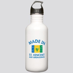 Made in St Vincent and Stainless Water Bottle 1.0L