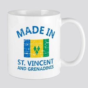 Made in St Vincent and Grenadines Mugs