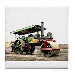 Vintage Steam Roller Tile Coaster