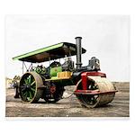 Vintage Steam Roller King Duvet