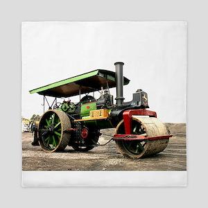 Vintage Steam Roller Queen Duvet