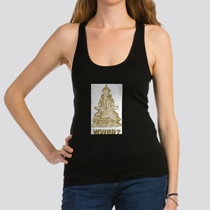 Vintage What Would Buddha Do? Racerback Tank Top