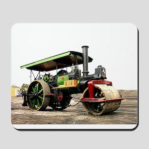 Vintage Steam Roller, engine, Mousepad