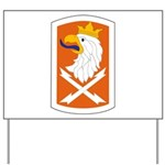 22nd Signal Bde Yard Sign