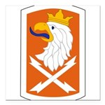 22nd Signal Bde Square Car Magnet 3