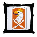 22nd Signal Bde Throw Pillow
