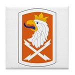22nd Signal Bde Tile Coaster