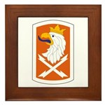 22nd Signal Bde Framed Tile