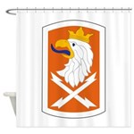 22nd Signal Bde Shower Curtain