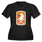 22nd Signal Bde Plus Size T-Shirt