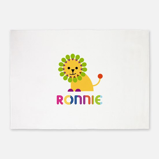Ronnie Loves Lions 5'x7'Area Rug