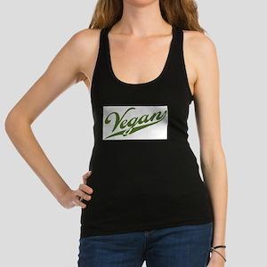 Retro Vegan Racerback Tank Top