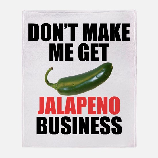 Jalapeno Business Throw Blanket