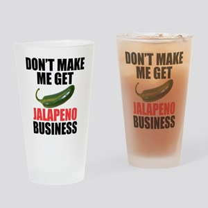 Jalapeno Business Drinking Glass