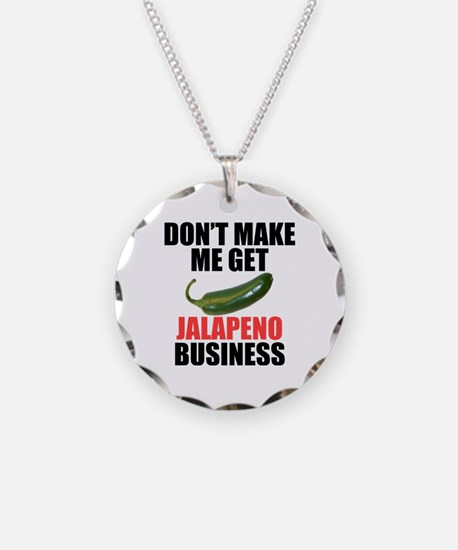 Jalapeno Business Necklace