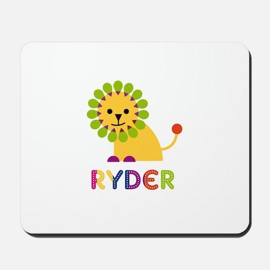 Ryder Loves Lions Mousepad