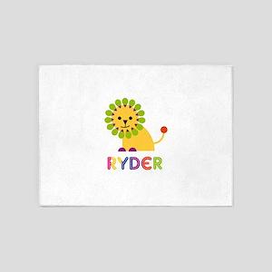 Ryder Loves Lions 5'x7'Area Rug