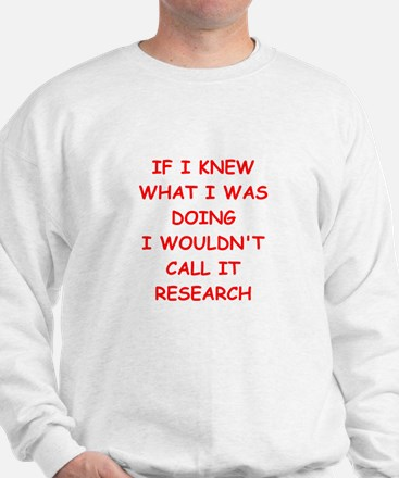 research Sweatshirt