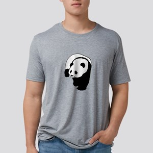 NEAR THE BAMBOO Mens Tri-blend T-Shirt