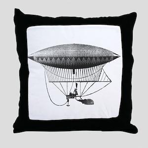 Personal Airship Throw Pillow