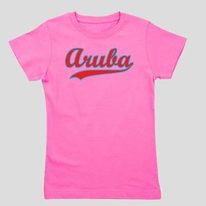 Retro Aruba Girl's Tee