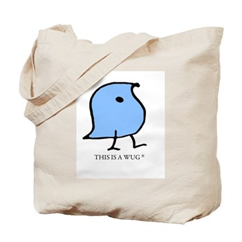 This is a Wug Tote Bag