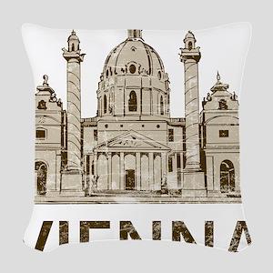 Vintage Vienna Woven Throw Pillow