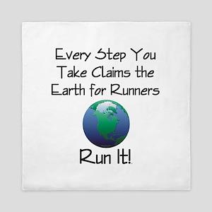 TOP Run Earth Queen Duvet