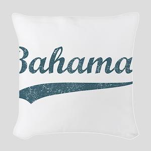 Vintage Bahamas Woven Throw Pillow