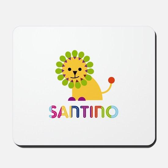 Santino Loves Lions Mousepad