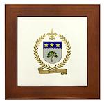 BREAULT Family Crest Framed Tile