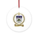 BREAULT Family Crest Ornament (Round)