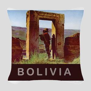 Bolivia Woven Throw Pillow