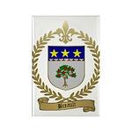 BREAULT Family Crest Rectangle Magnet (10 pack)