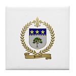 BREAULT Family Crest Tile Coaster