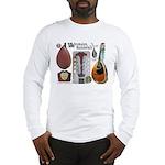 Antique Mandolute Long Sleeve T-Shirt
