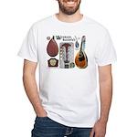 Antique Mandolute White T-Shirt