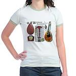 Antique Mandolute Jr. Ringer T-Shirt