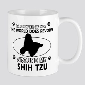 Shih Tzu dog funny designs Mug